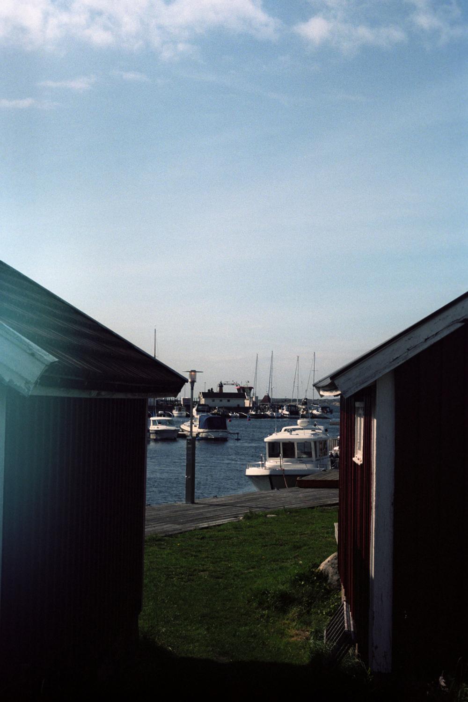 Gotenburg en de eilanden van Zweden, haven