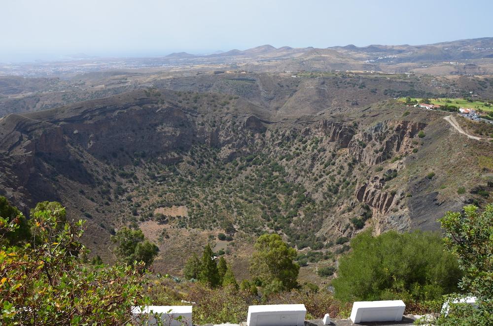 Gran Canaria bezienswaardigheden, Pico de Bandama