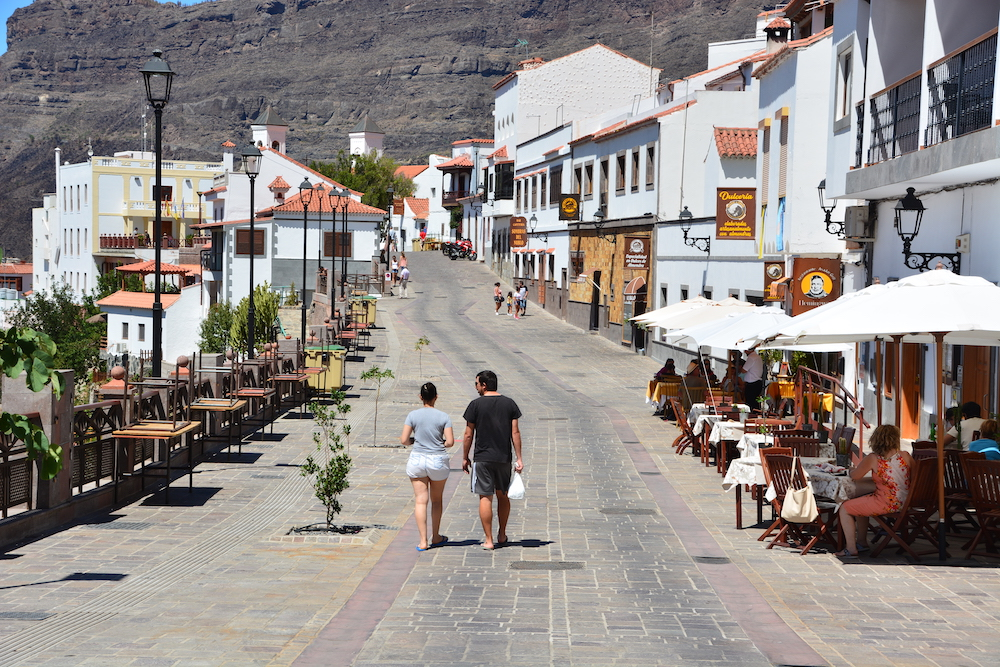 Gran Canaria bezienswaardigheden, Tejeda