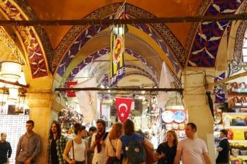 Grand bazaar Istanbubl