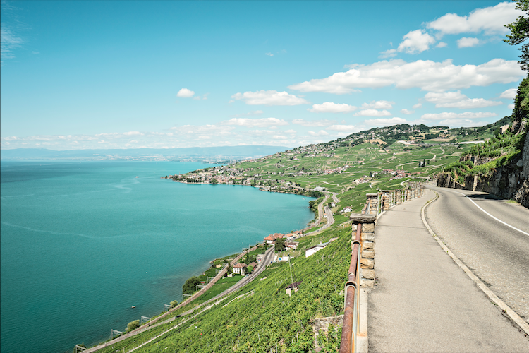 Grand tour of Switzerland route
