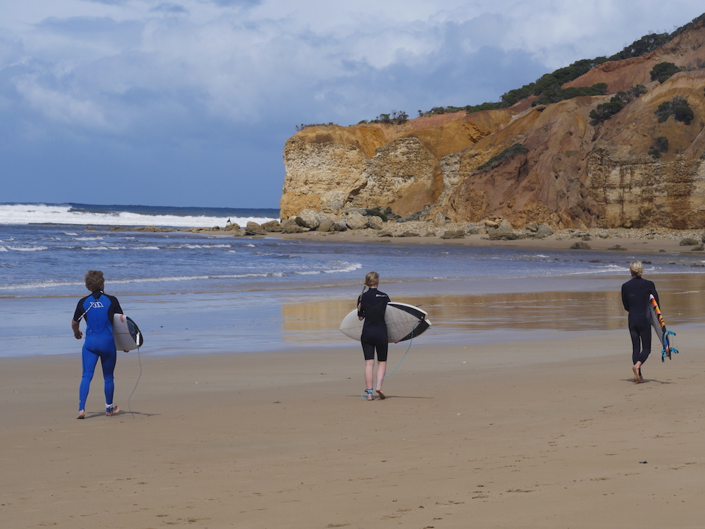 Great Ocean Road surfen