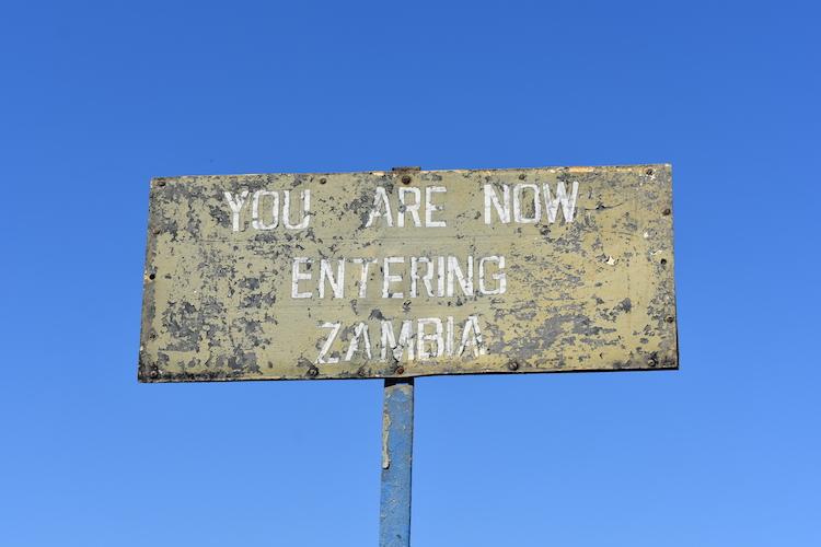 Grensovergang Zambia