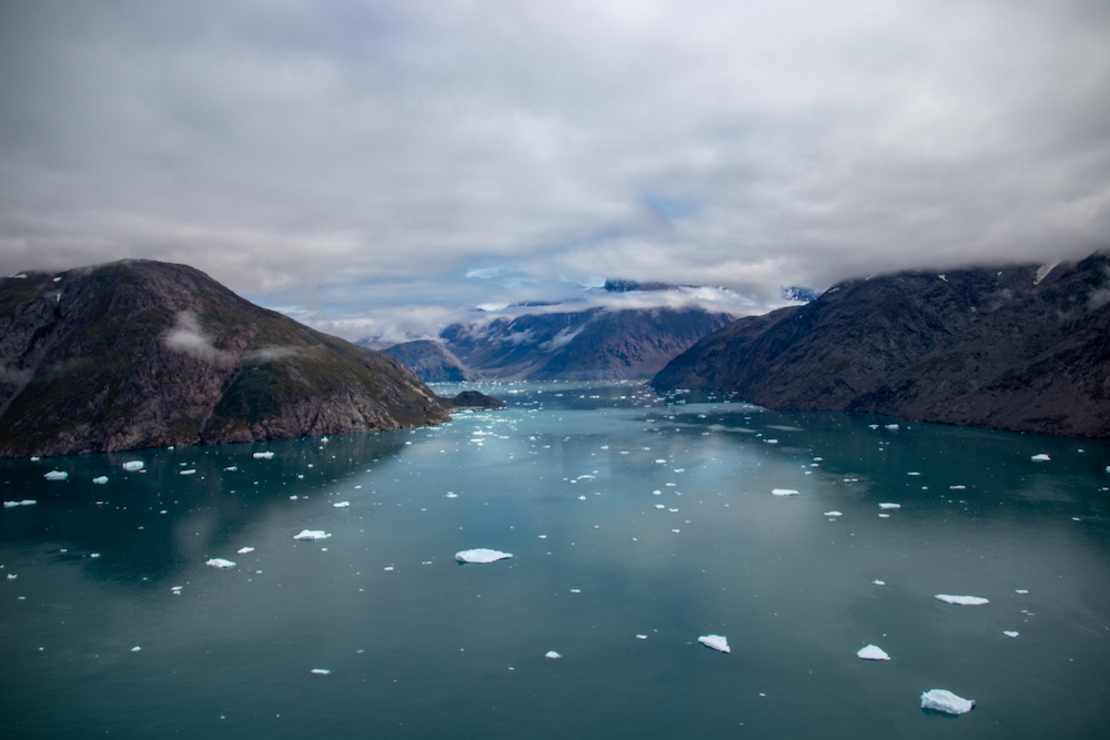 Groenland rondreis helikoptervlucht