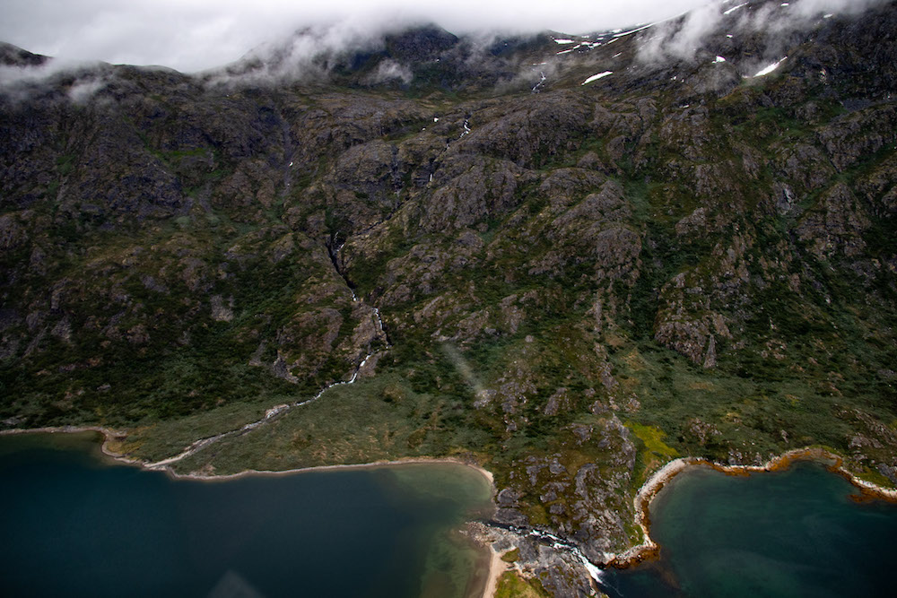 Groenland rondreis uitzicht