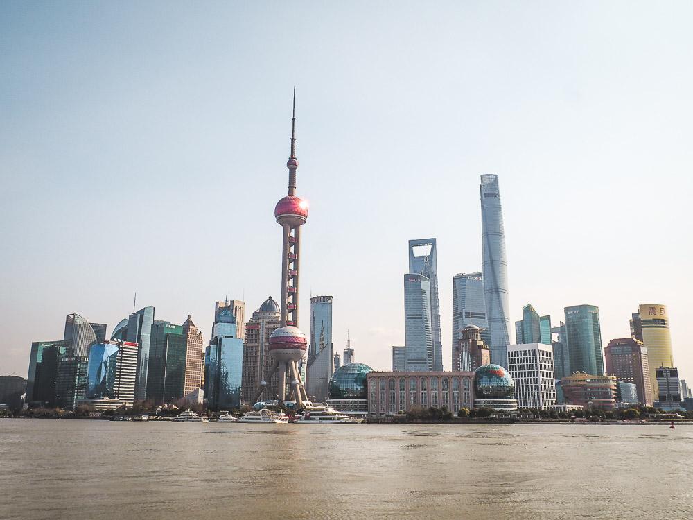 Grootste stad ter wereld Shanghai