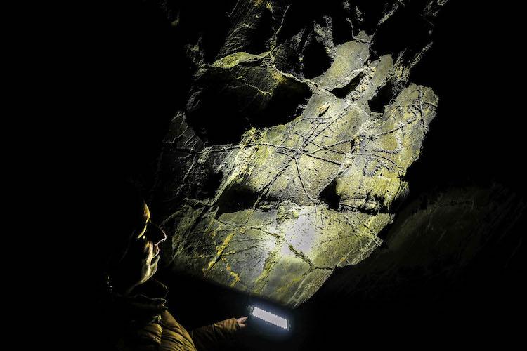 Grotten in midden portugal Coa Vallei