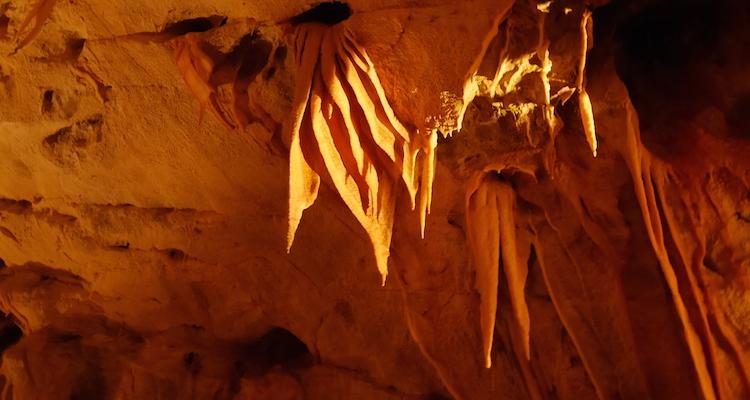 Grotten van Postojna gordijnen