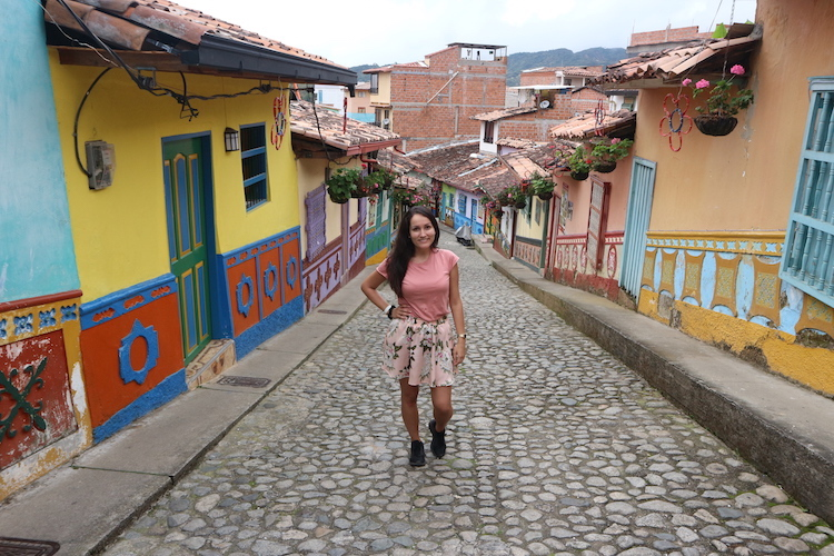 Guatape alleen backpacken colombia