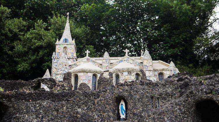 Guernsey Little Chapel van voren kanaaleilanden