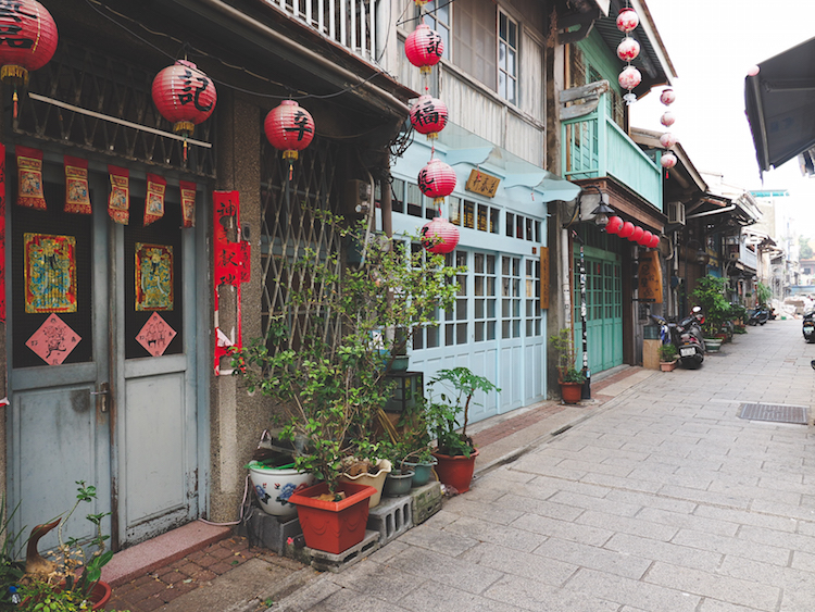 In de buurt van Hai An Road Tainan