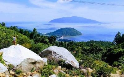 Hai Van Pass Vietnam uitzicht