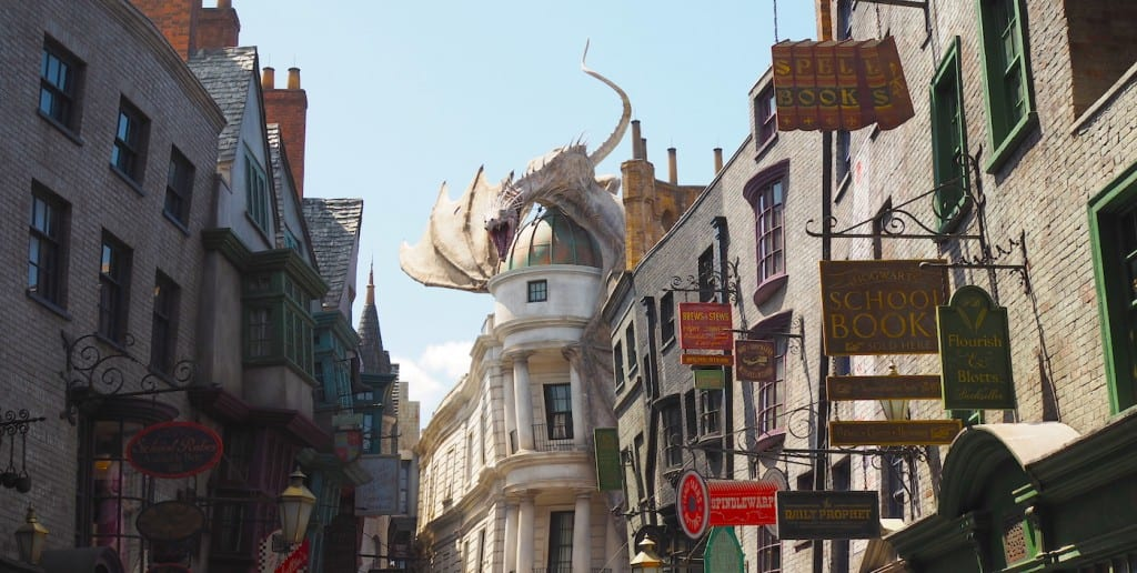 Harry Potter World dragon