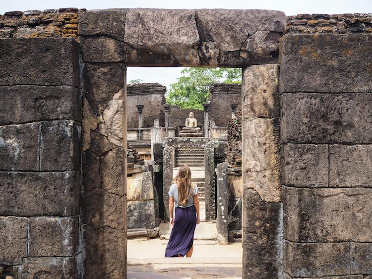 Hatadage Polonnaruwa bezienswaardigheden sri lanka