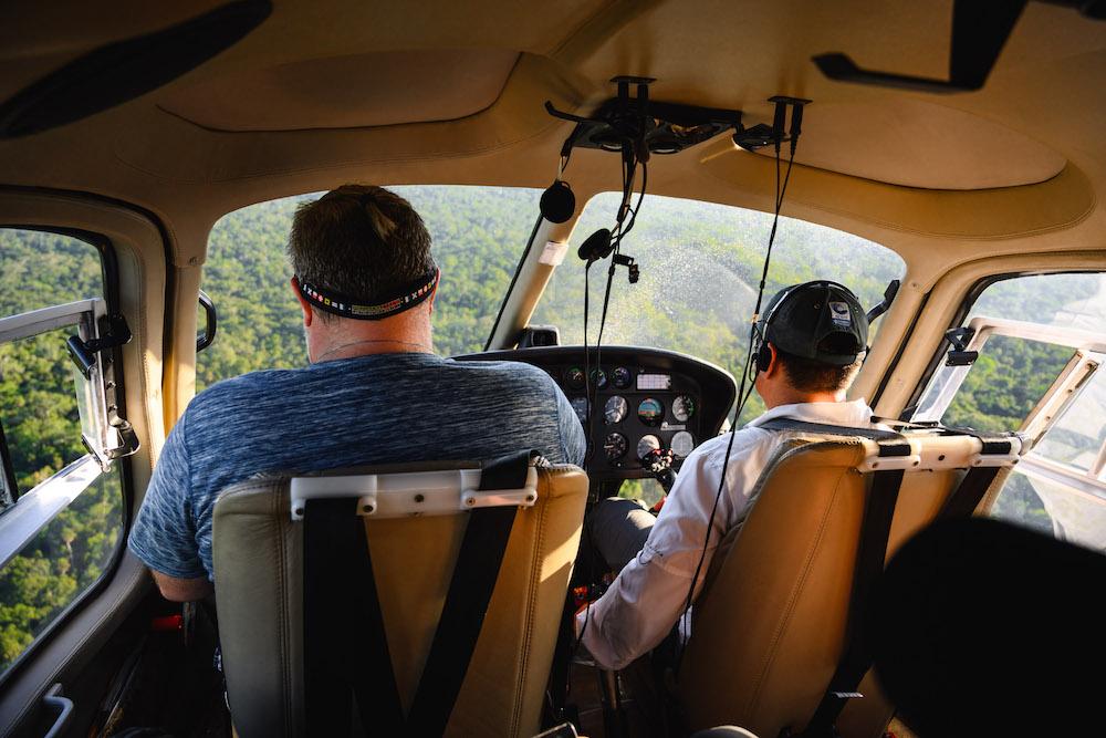 Helikopter El Mirador Guatemala