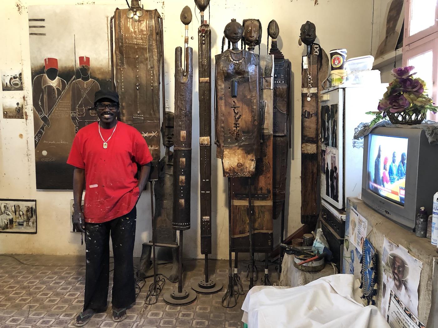 Het Kunstendorp, bezienswaardigheden Dakar
