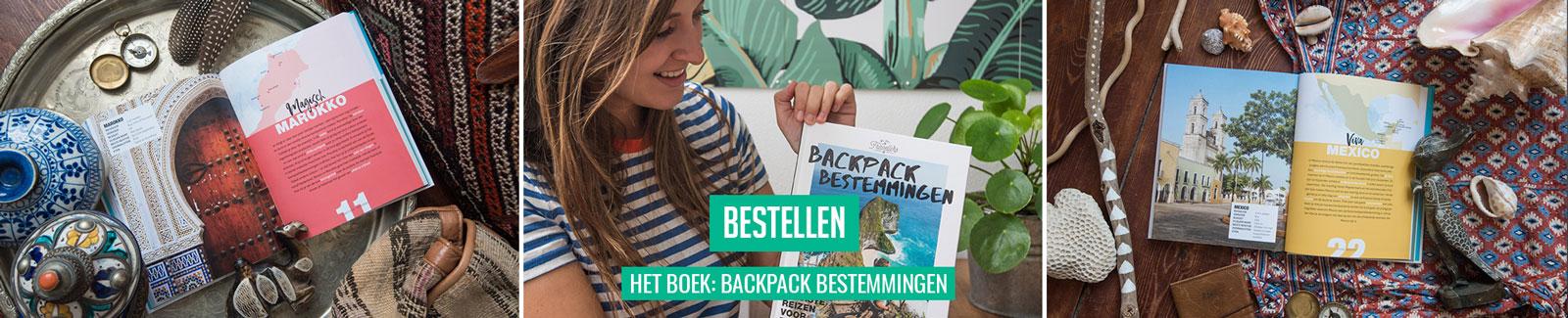 Boek Backpack Bestemmingen bestellen