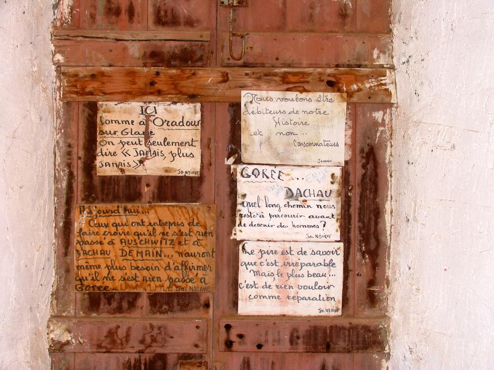 Het slavenhuis van Gorée