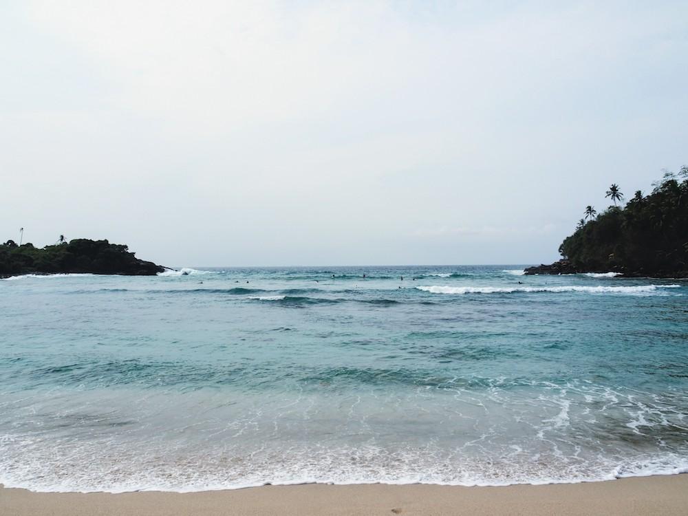 Hidden places sri lanka Hiriketiya strandje
