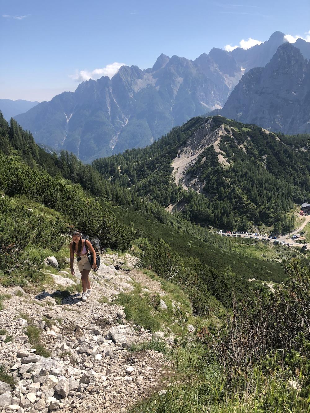 Hiken in Bovec, Slovenie