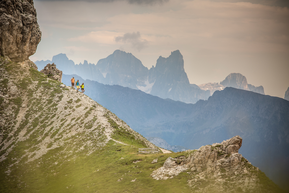 Mendaki Eggental South Tyrol