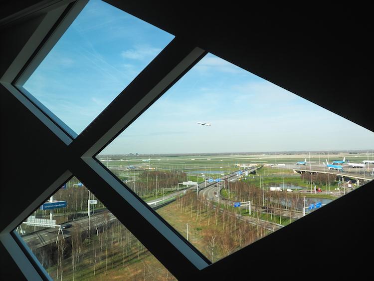 Hilton Hotel Schiphol vliegtuigen