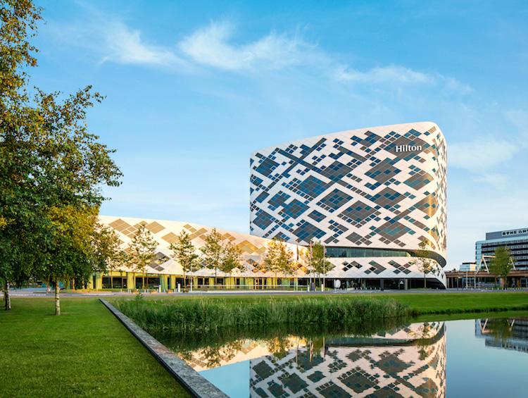 Hilton Schiphol Hotel architectuur