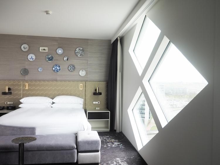 Hilton Schiphol hotelkamer suite