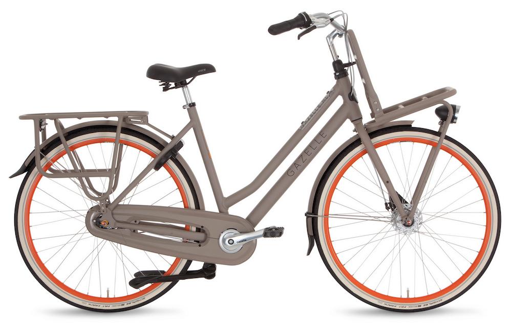Hippe fietsen gazelle hybrid