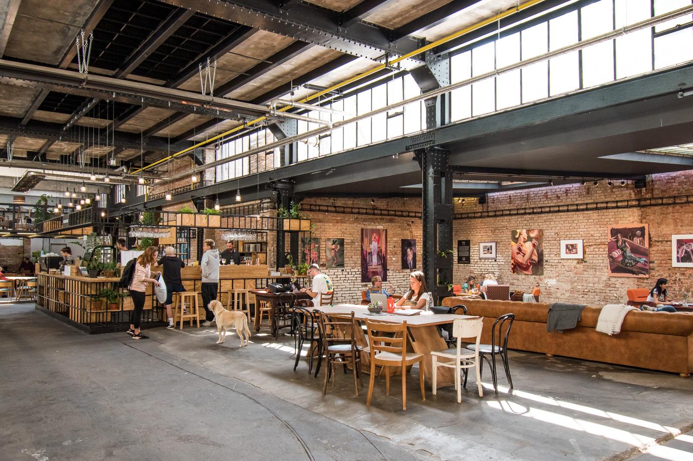 Hippe restaurants praag hotspots Vnitroblock