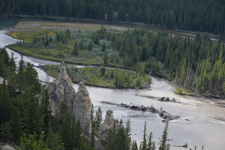 Hoodoo Banff West Canada Rondreis