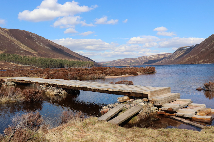 Hooglanden Schotland Cairngorms bruggen