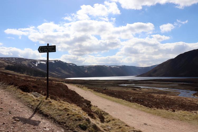 Hooglanden Schotland Cairngorms wandelen