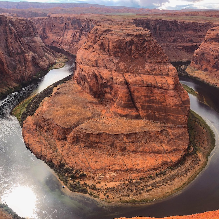 Horseshoe bend amerika viewpoint
