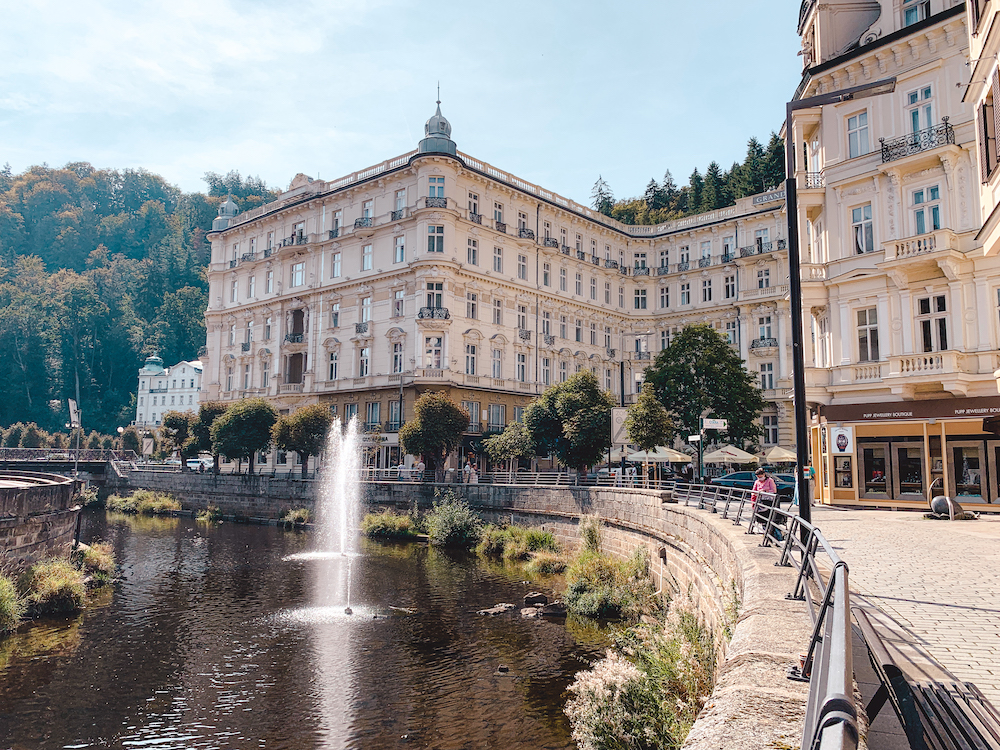 Hot Spring Colonnade in Karlovy Vary