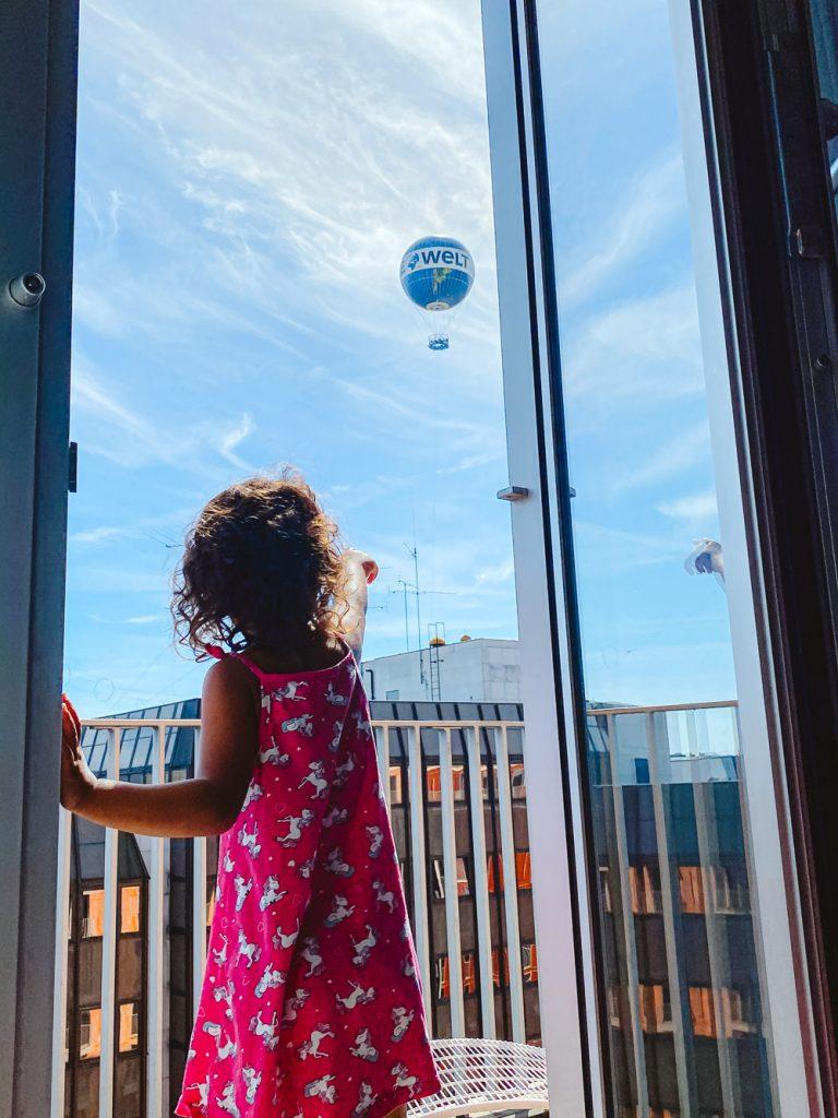 Hotel Berlijn met kinderen met balkon