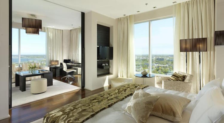 Hotelkamer vijf sterren hotel Tallinn