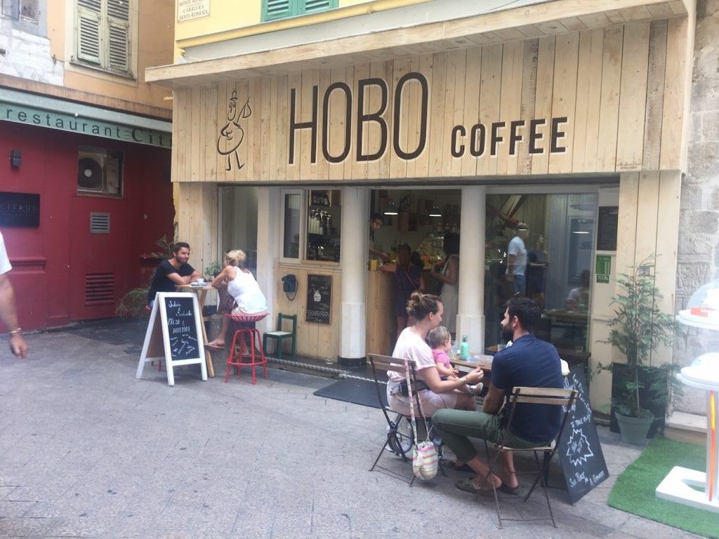 Hotspots nice Hobo coffee