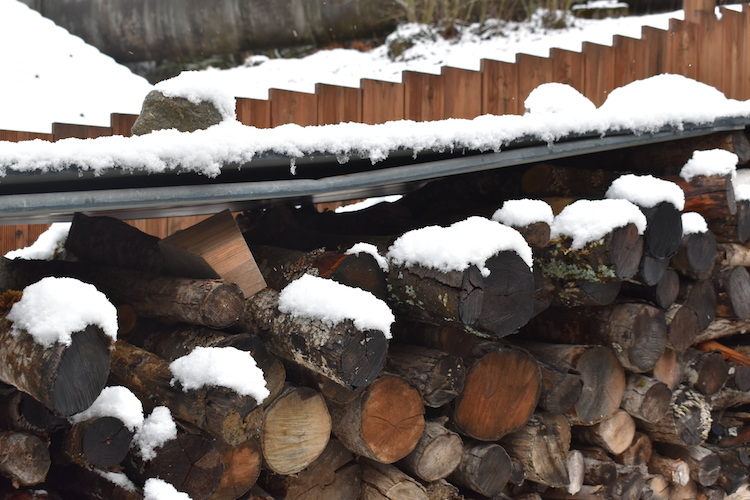 Hout airbnb tuin saint gervais ski gebied