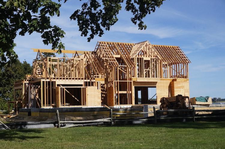 Huis in aanbouw Hamptons New York staat rondreis