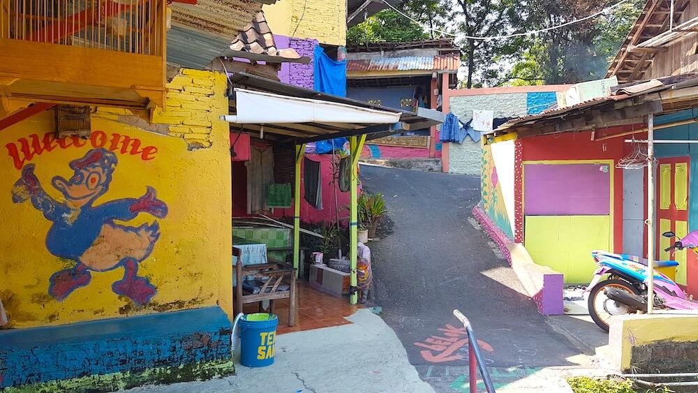 Huisje in Kampung Pelangi Semarang