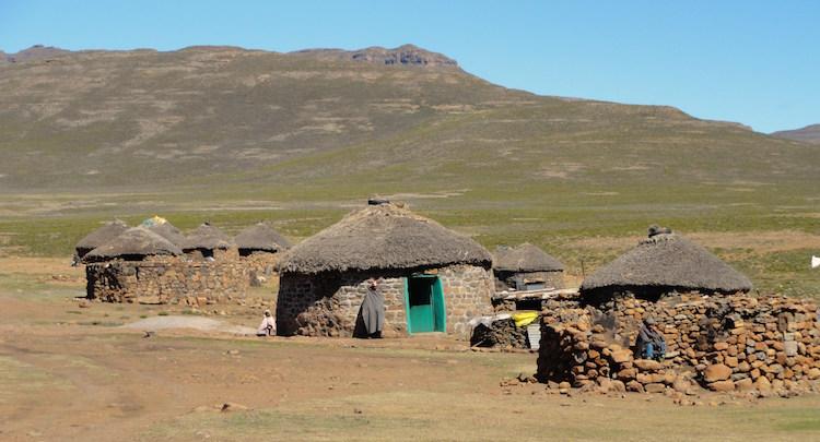 Huisjes Lesotho
