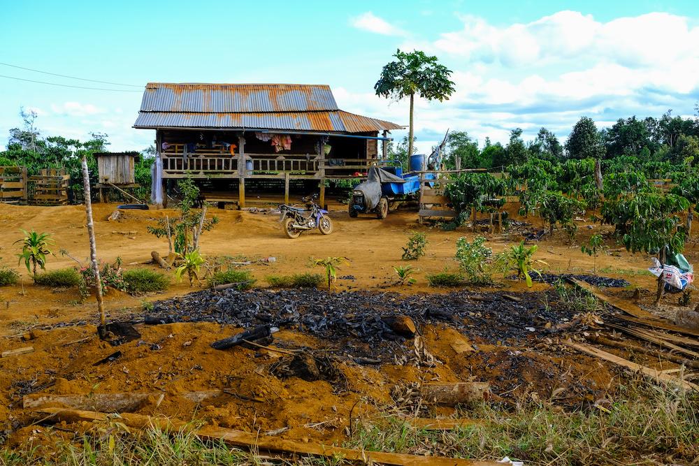 Huizen laos bolaven plateau