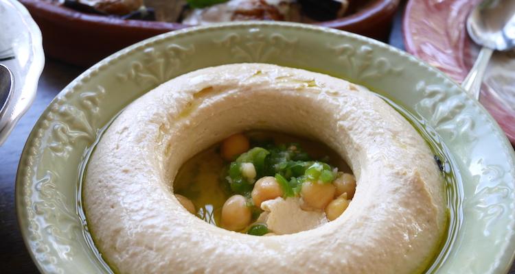 Hummus eten in jordanie