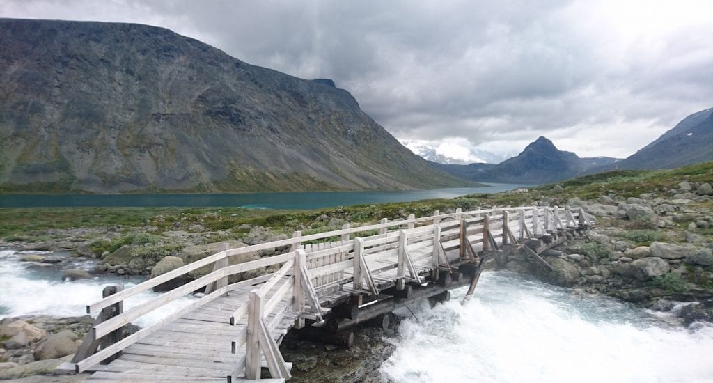 Huttentocht Noorwegen