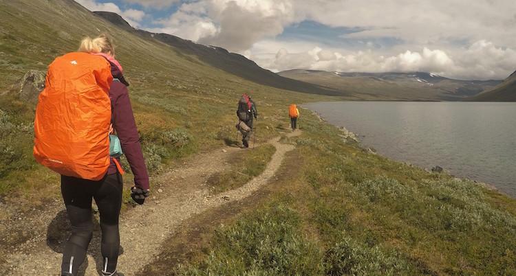 Huttentocht noorwegen wandelen