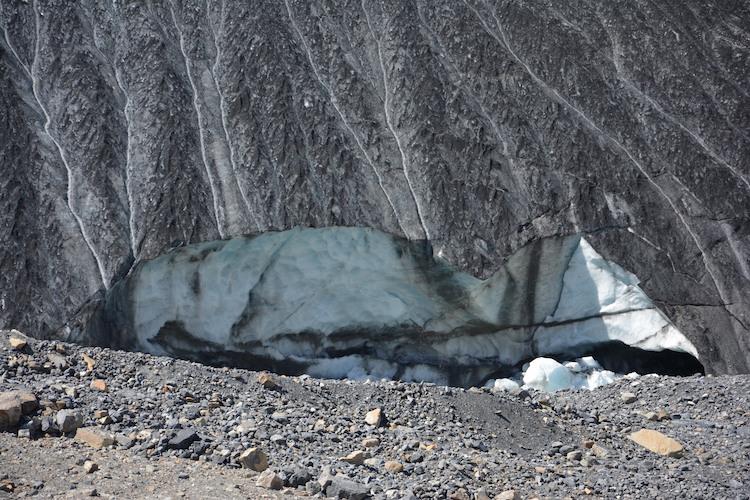 IJs gletsjer West Canada Icefield Athabasca Glacier