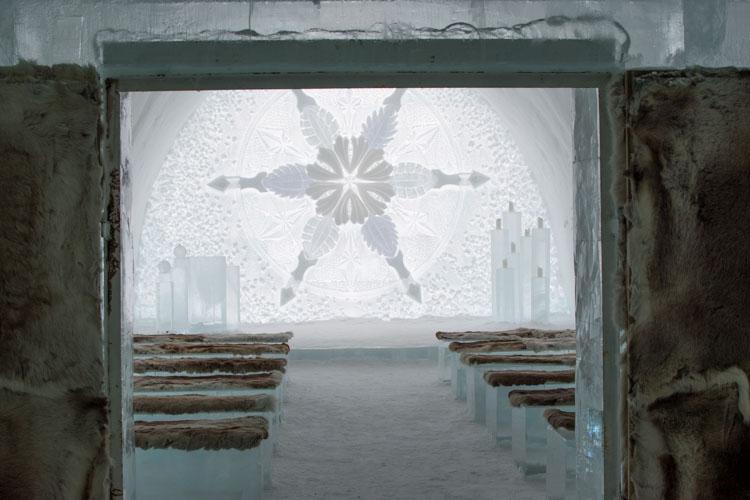 Ice Hotel Jukkasjarvi trouw locatie