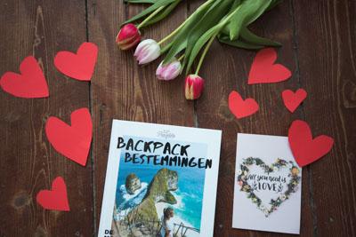 Idee Valentijnscadeau boek backpack bestemmingen