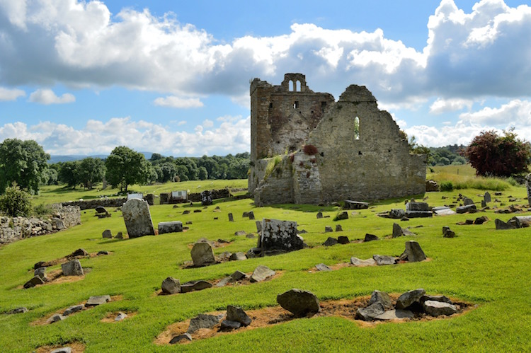 Ierland Ruines bij Jerpoint